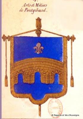 Bannière des Arts et Métiers d'Auvergne Pongibaud