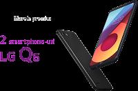 Castiga 2 telefoane LG Q6 + 25 de LG Wireless Stereo Headset