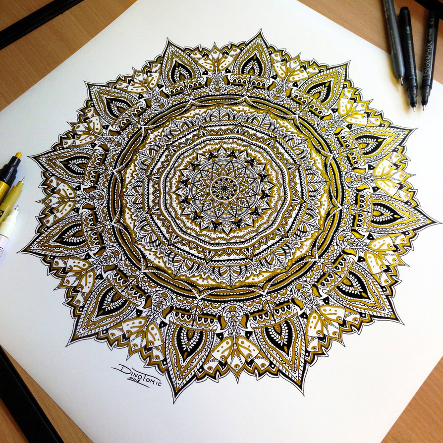 21-Golden-Mandala-Dino-Tomic-AtomiccircuS-Drawing-Painting-Tips-and-Digital-Art-www-designstack-co