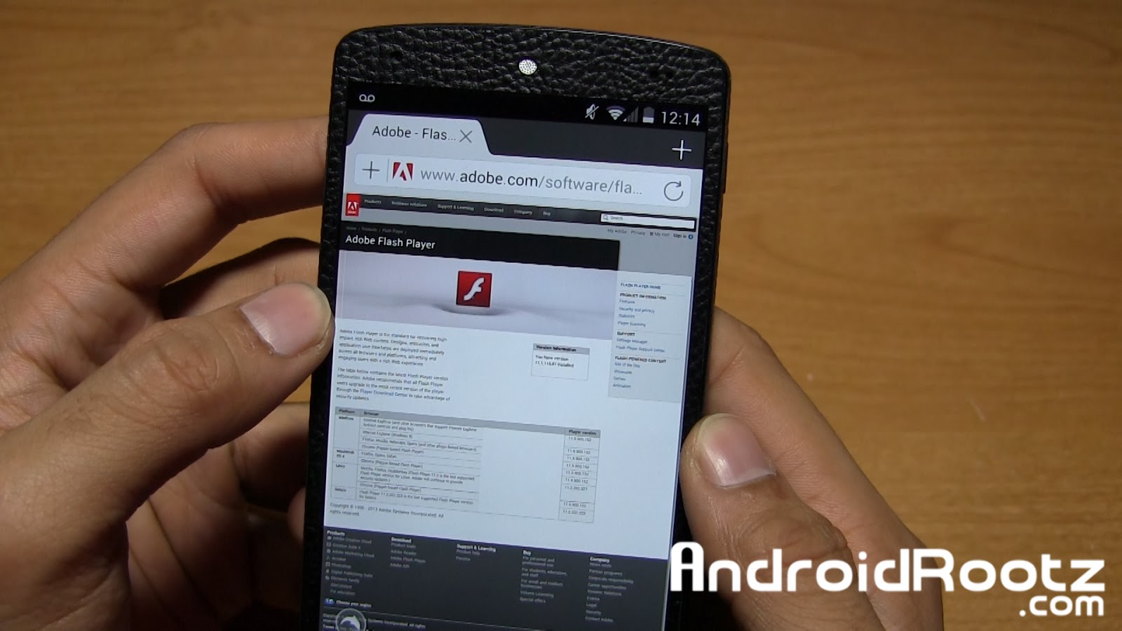 How to Install Flash Player on Any Android KitKat Device
