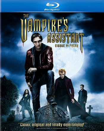The Vampires Assistant 2009 Dual Audio Hindi 480p BluRay 300mb