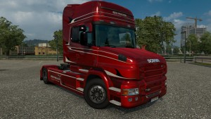 Red Passion Limited Edition Skin for Scania T