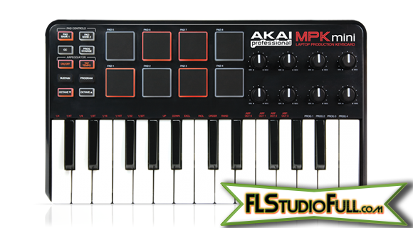 Akai MPK Mini - Review - Frontal