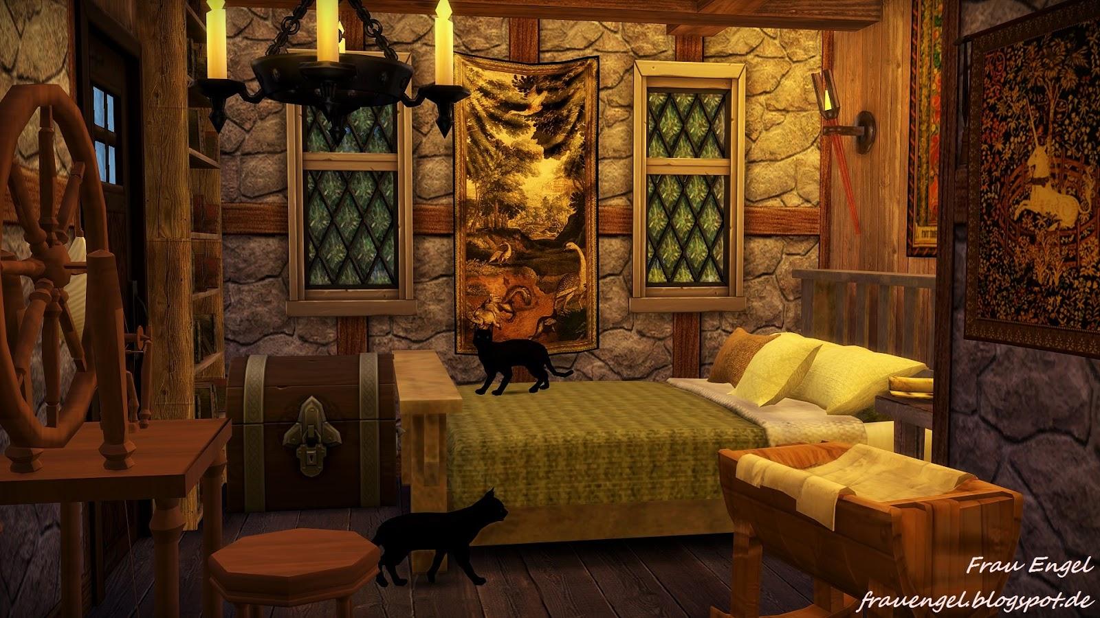 Frau Engel Ts4 Witch House