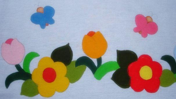 pintura em tecido country folk art passo a passo