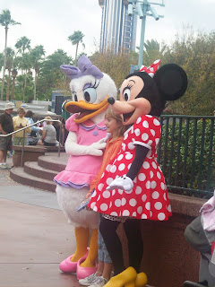 Minnie Mouse and Daisy at Disney World