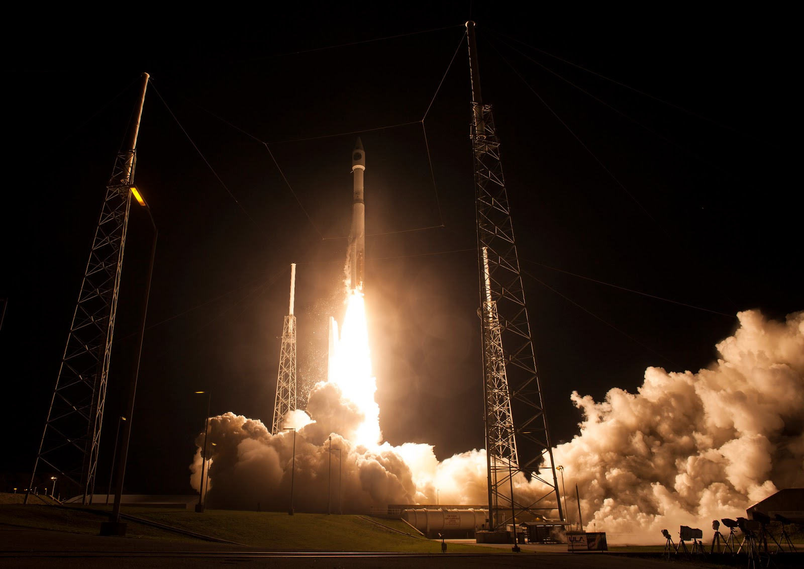 Sights and Sounds from a NASA Rocket Launch