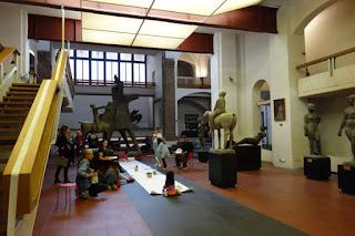 Marino Marini sculpture museum Festival del Disegno