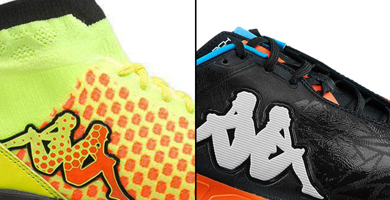 8021331710e8 In early September 2015, Kappa released the new Kappa Rattler Indoor  Football Boots featuring a Dynamic Fit collar and a textile upper.