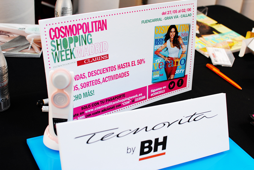 Cosmopolitan shopping week Madrid, SNB BLOG, Nery Hdez,Carpa Callado , Tecnovita by BH