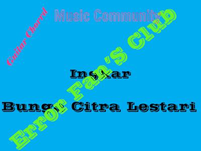 Chord Gitar Ingkar   Bunga Citra Lestari