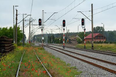 stacja kolejowa żerków