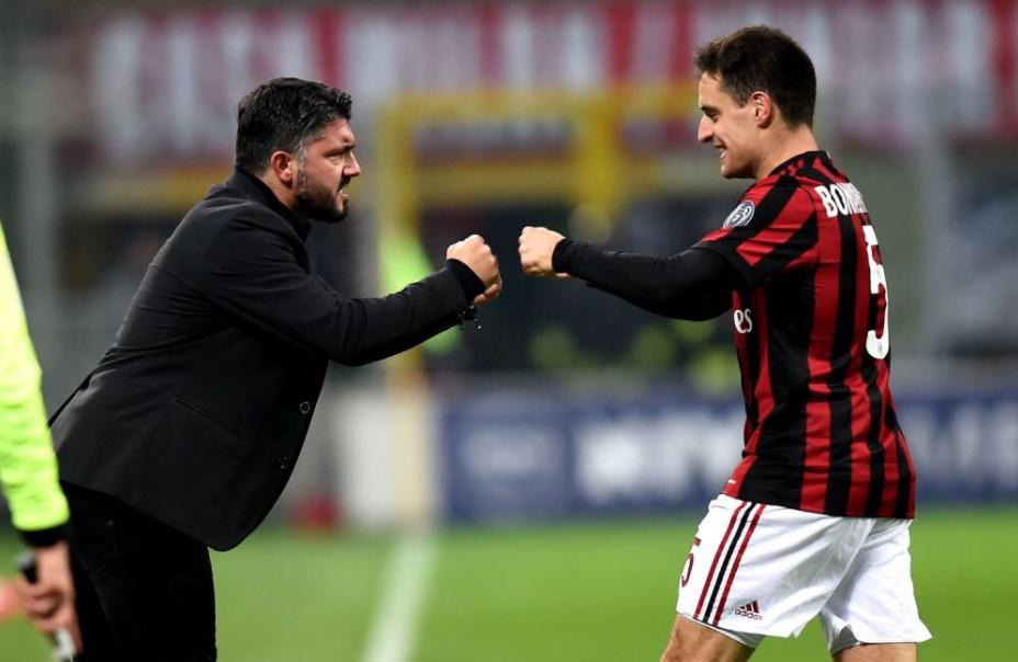 MILAN-Bologna risultato con doppietta di Bonaventura. Rosssoneri tornano al successo con Gattuso a San Siro | Calcio Serie A