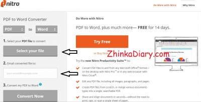 Cara Convert PDF ke Word secara Gratis - pdftoword.com