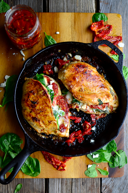 Sundried Tomato Spinach And Cheese Stuffed Chicken Chicken