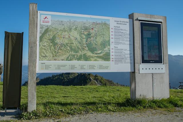 Panoramaweg Gantakopf  Wandern im Montafon 03