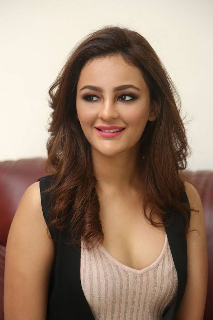 Seerat Kapoor Hot Photo At Touch Chesi Choodu Movie Interview