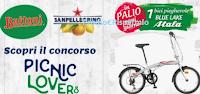 Logo Picnic Lovers: con SanPellegrino e Buitoni vinci 49 biciclette Atala Urban Bike pieghevoli