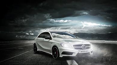 Car: Mercedes AMG A45