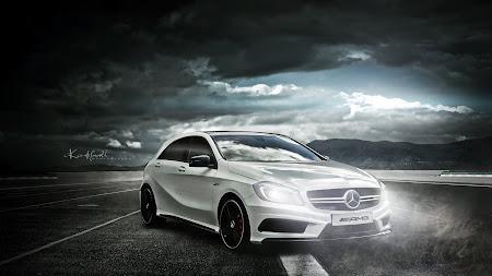 Car: Mercedes AMG A45 UHD