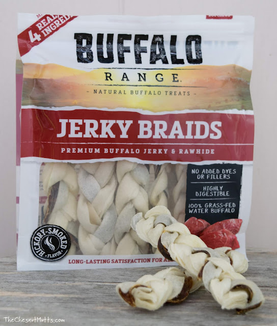 Buffalo Range Jerky Braids Premium Buffalo Jerky and Rawhide