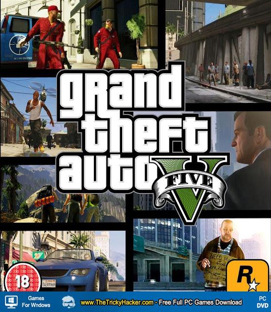 Grand Theft Auto V ( GTA 5 ) Game