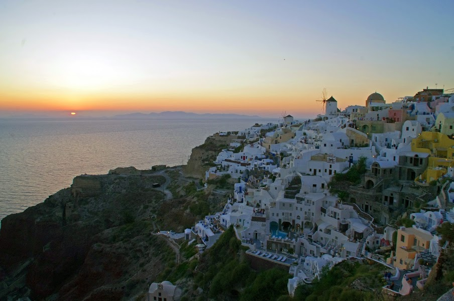 Oia Sunset Santorini