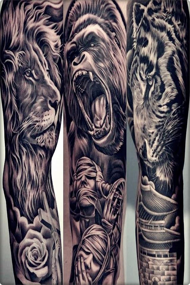 25 En İyi  Aslan dövmesi, Aslan Dövme Modelleri