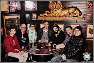 BogZH celtic Cats ! en pause au pub le Black Shelter à Carquefou