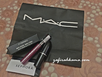 review lipstick mac, best tak lipstick sephora, mac lipstick, sephora lipstick, sephora penang, sephora kl, birthday gift, october baby, fiance to husband, counting days, make up junkies,