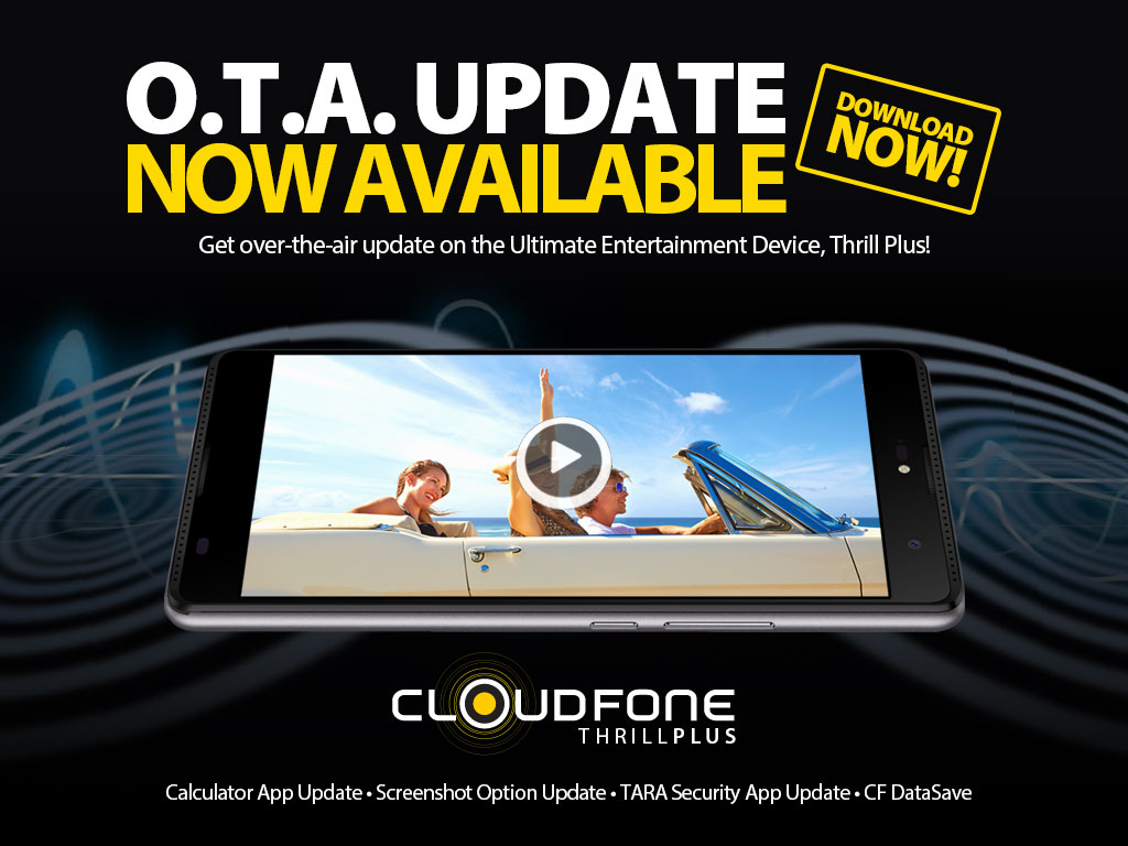Cloudfone Thrill Plus Software Update