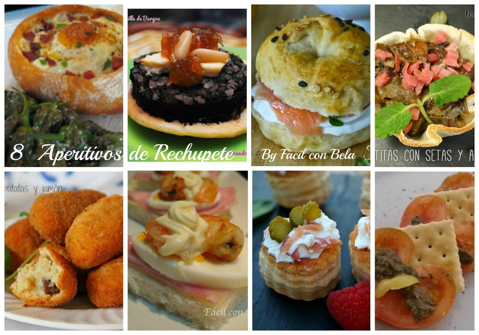 Recetas f cil con bela entrantes y primeros platos for Canapes sencillos y rapidos