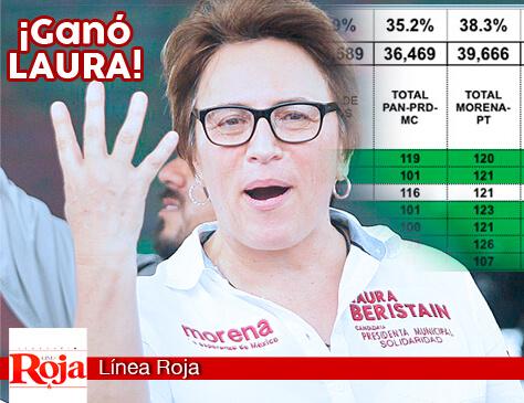 GANÓ LAURA BERISTAIN... CRISTINA TORRES RECONOCE SU DERROTA