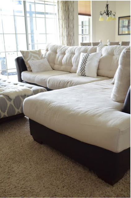 How to Do Buttonless Tufting on Couch Cushions