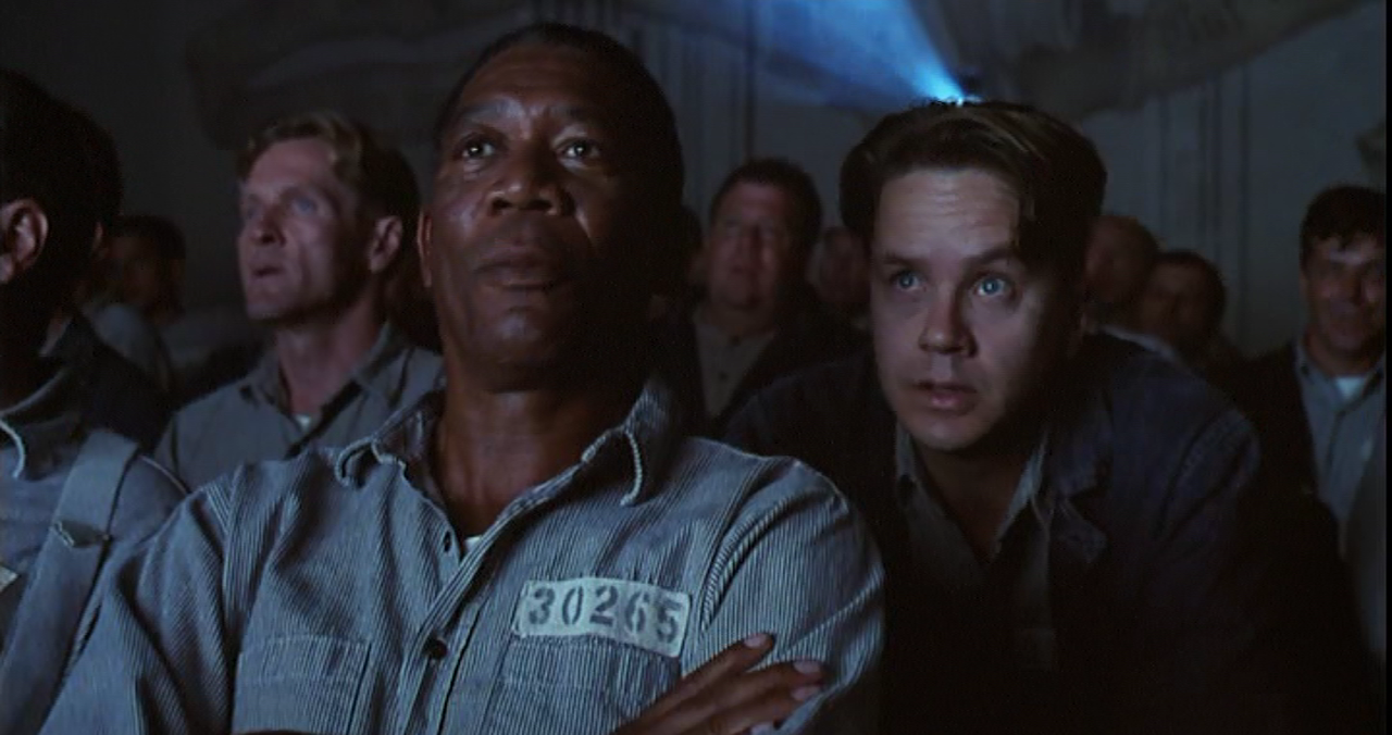 frank darabonts the shawshank redemption essay The shawshank redemption', directed by frank darabont tells the story of andy dufresne, who is falsely accused and imprisoned for the murder of his wife and her lover and is sent the shawshank prison darabont uses many important scenes throughout the film to show certain key ideas and.