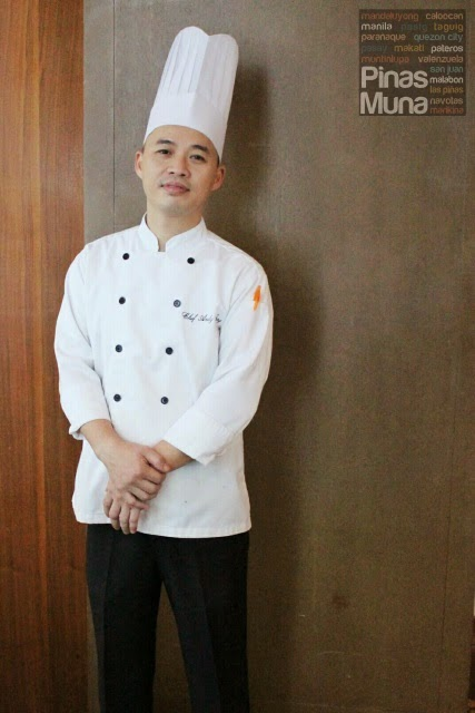 Chef Andy Crowne Plaza Manila Xin Tien Di