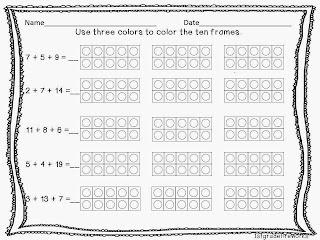 You Quack Me Up ELA & Math for First grade 3 digit addition