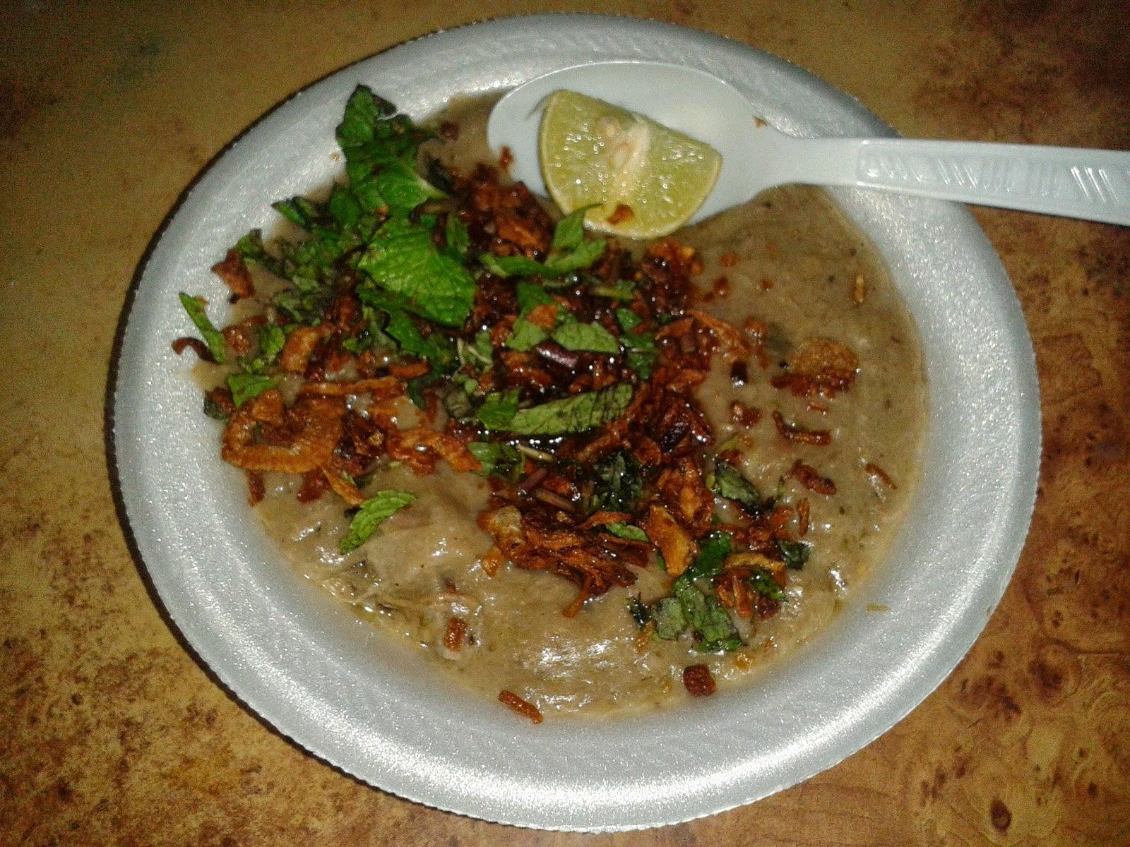 Foodaholix haleem Cafe Bahar