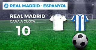 Paston Megacuota Real Madrid vs Espanyol 22 septiembre
