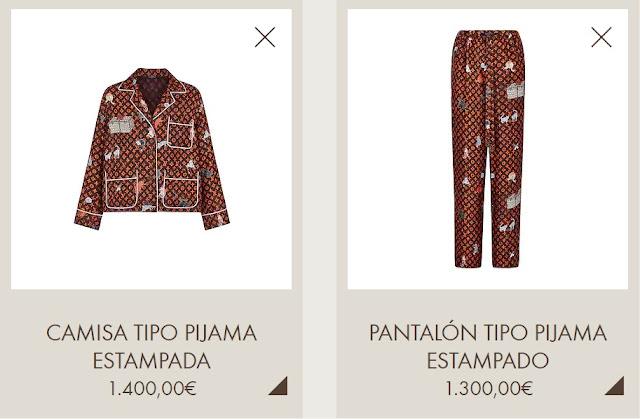 El pijama de la novia de  Cristiano Ronaldo