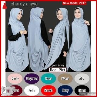 RYB075B Khimar Cardi Cantik Aliyya Murah  BMG Online Shop