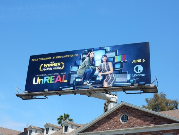 UnREAL season 2 billboard