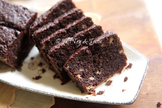 Resep Cake Singkong Jtt: Just Try & Taste: Resep Brownies Pisang Super Duper Moist