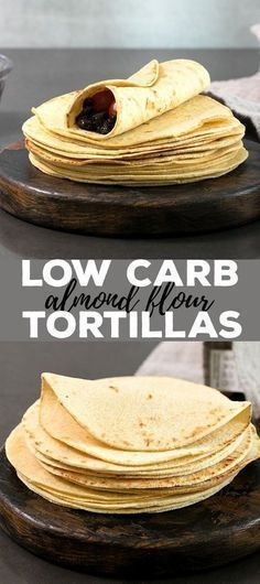 Almond Flour Low Carb Tortillas