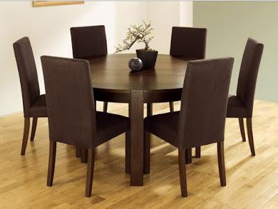 Berbagai Furniture Dan Model Meja Makan Kayu