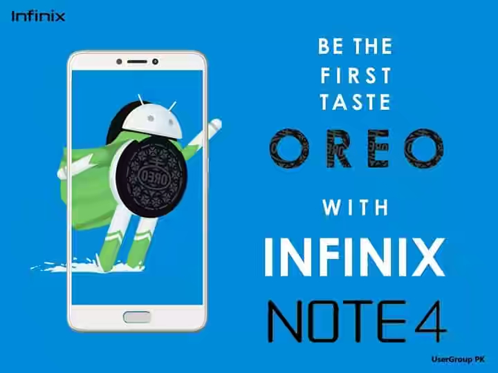 Infinix Note 4 android oreo image