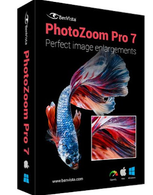 Free Download BenVista PhotoZoom Pro 7.0.8 Full Version Terbaru
