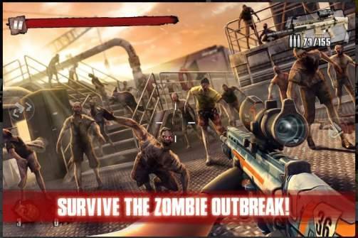 Game Tembak Offline Terbaik: Zombie Frontier 3 APK