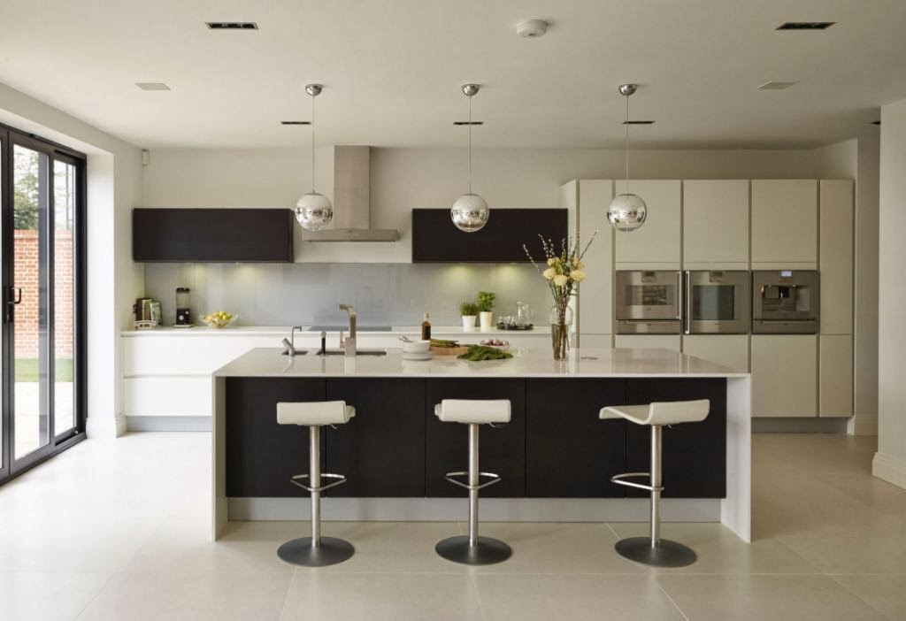 Un dise o actual que no sacrifica la funcionalidad for Cocinas abiertas con isla