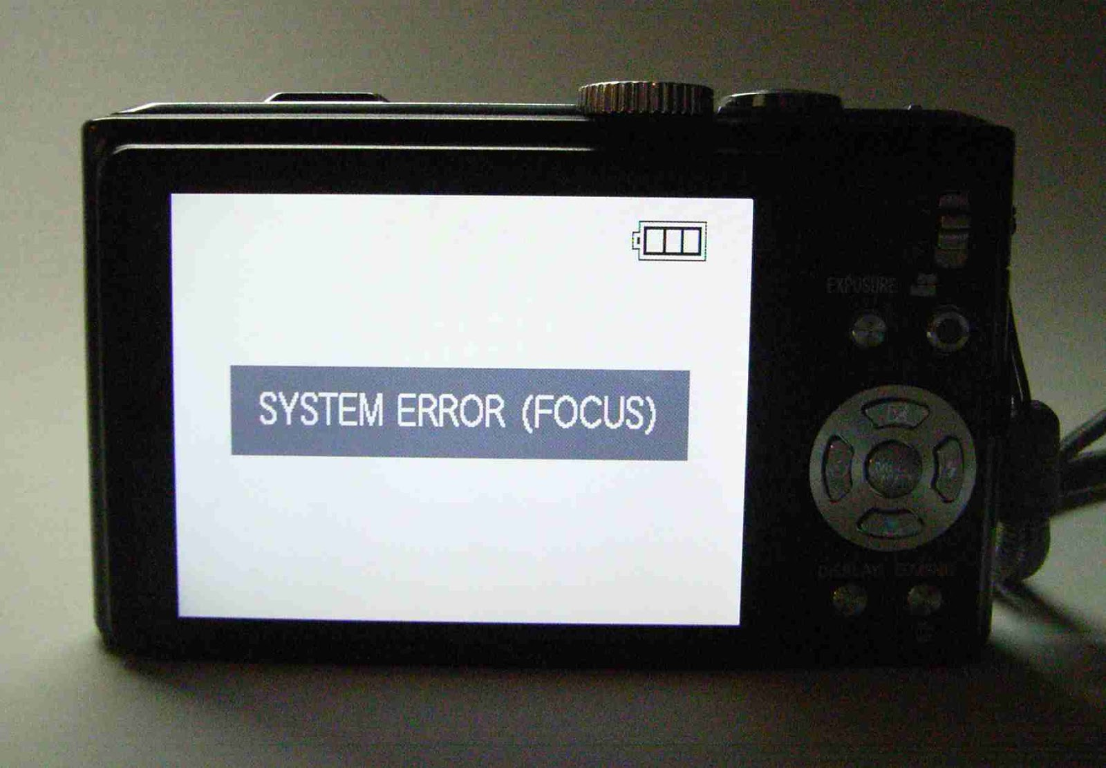 I found a service manual for the camera at  http://www.scribd.com/doc/96821254/DMC-TZ10-ZS7-Service-Manual (assessed 29  March 2013) which made repairing the ...
